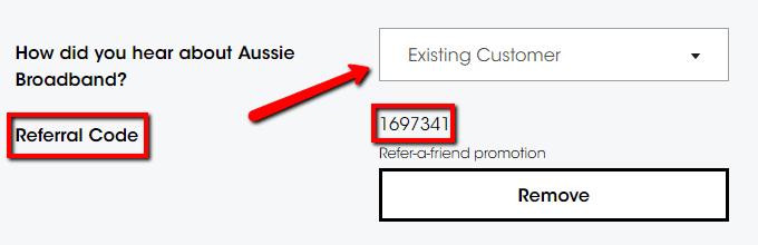 Aussie Broadband Referral